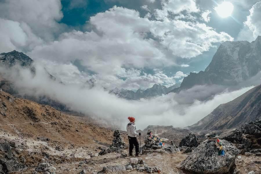 Hardest part Everest Base Camp trek