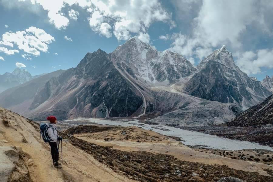 Higher altitude trekking at EBC