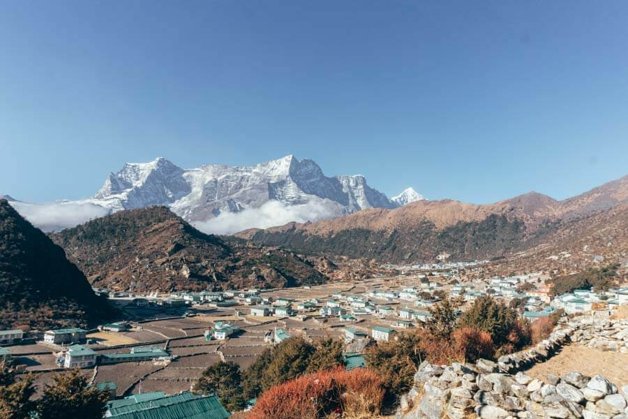 Khumjung in Everest Base Camp itinerary