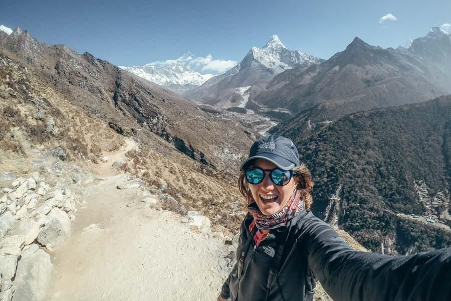 Last day of my Everest Base Camp itinerary in Nepal