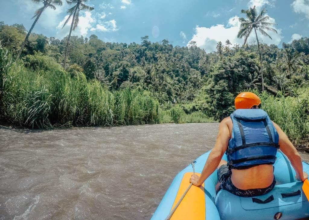 Bali river rafting tours