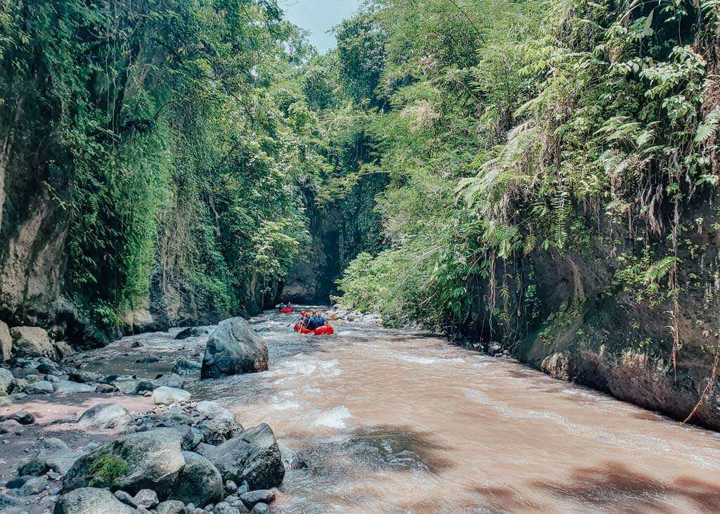 Best places to go white water rafting in Bali