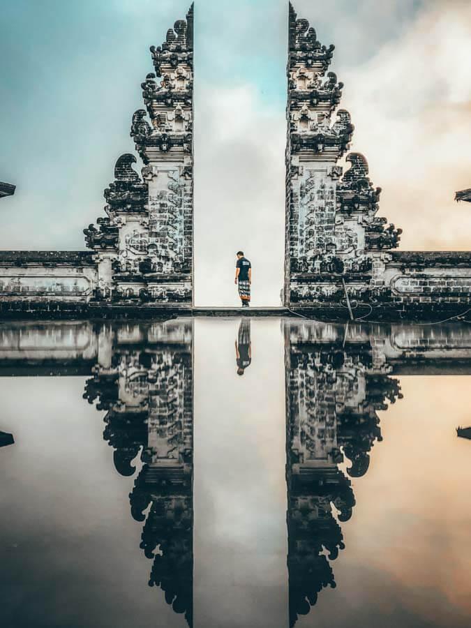 Lempuyang Temple near Sidemen Bali