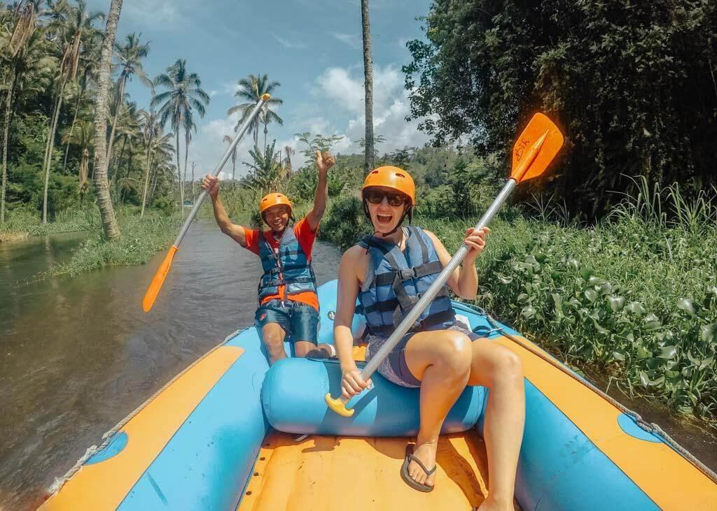 River Rafting near Sidemen, East Bali