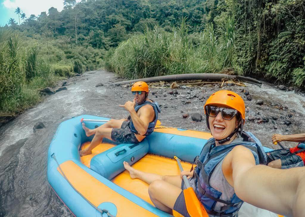Ultimate Guide To White Water Rafting in Bali Telaga Waja River