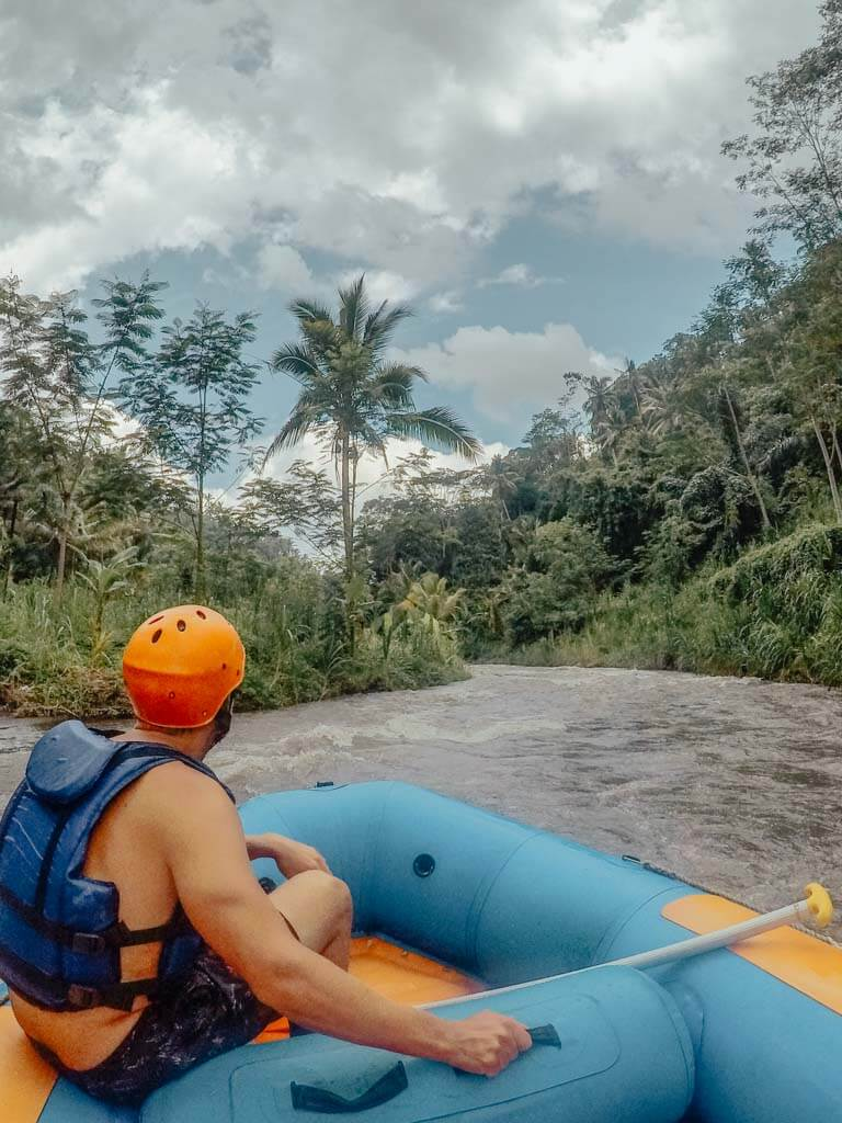 how much is it to go river rafting in Bali