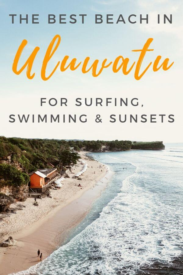 Best beach in Uluwatu, Bali - Balangan Beach - Torn Tackies Travel Blog