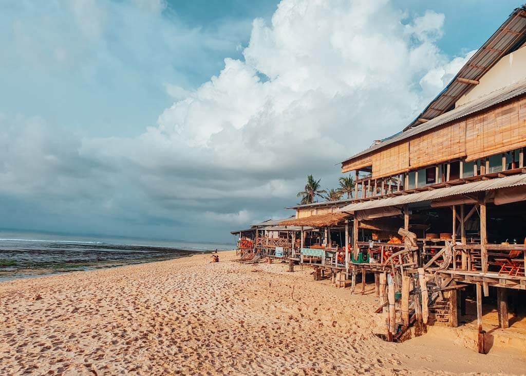 Best beaches in Uluwatu - Balangan