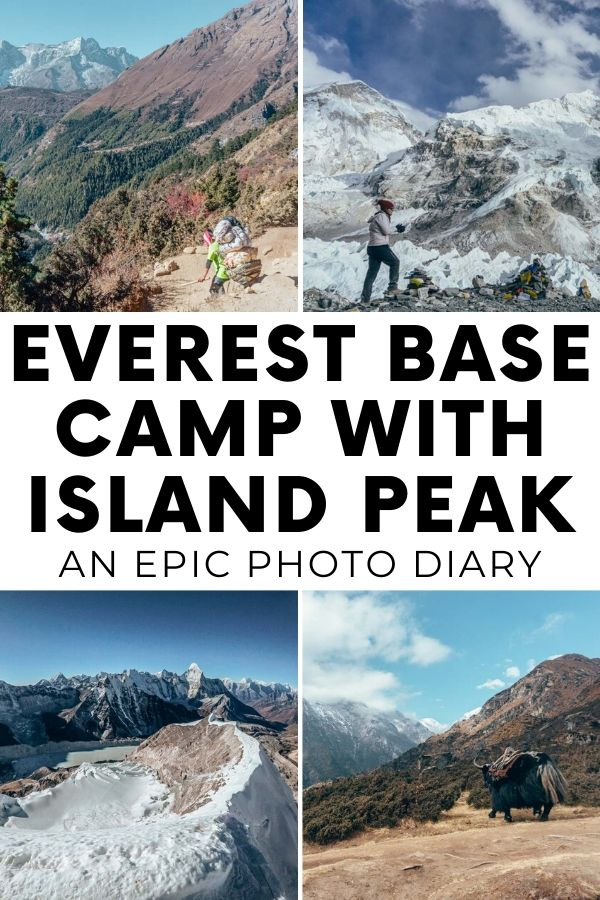 Everest Base Camp trek with Island Peak climbing - Torn Tackies Travel Blog