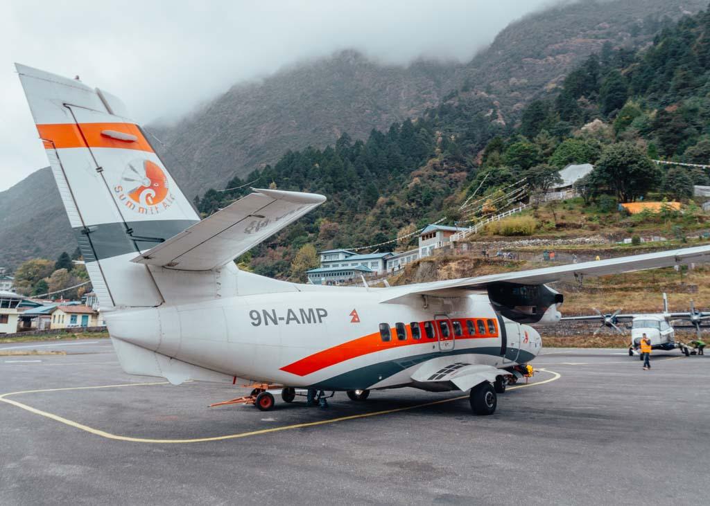 Flight from Kathmandu to Lukla