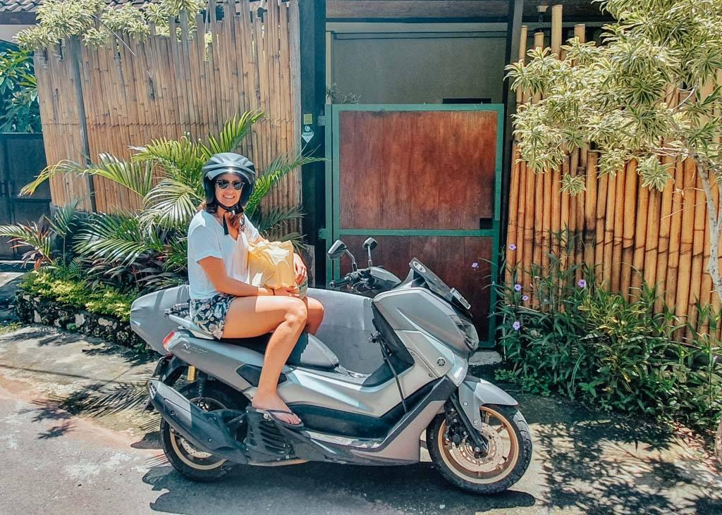 Motorbike rentals in Bali