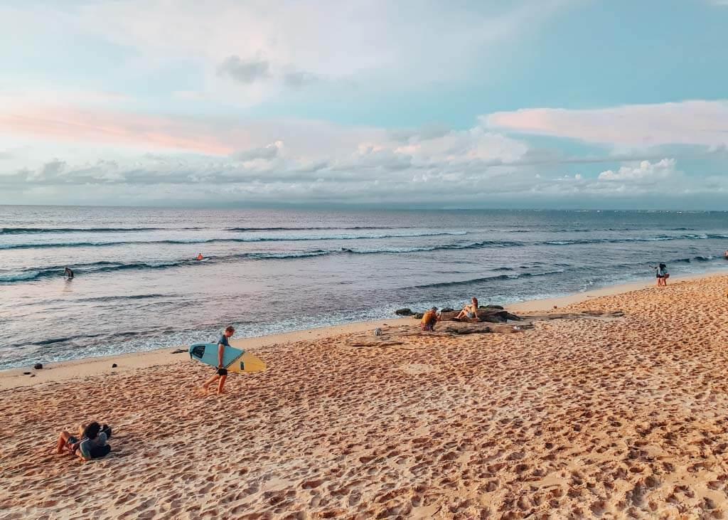 Pantai Balangan in Bali