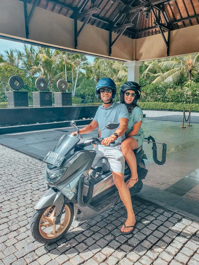 Safety tips for motorbike rentals in Bali