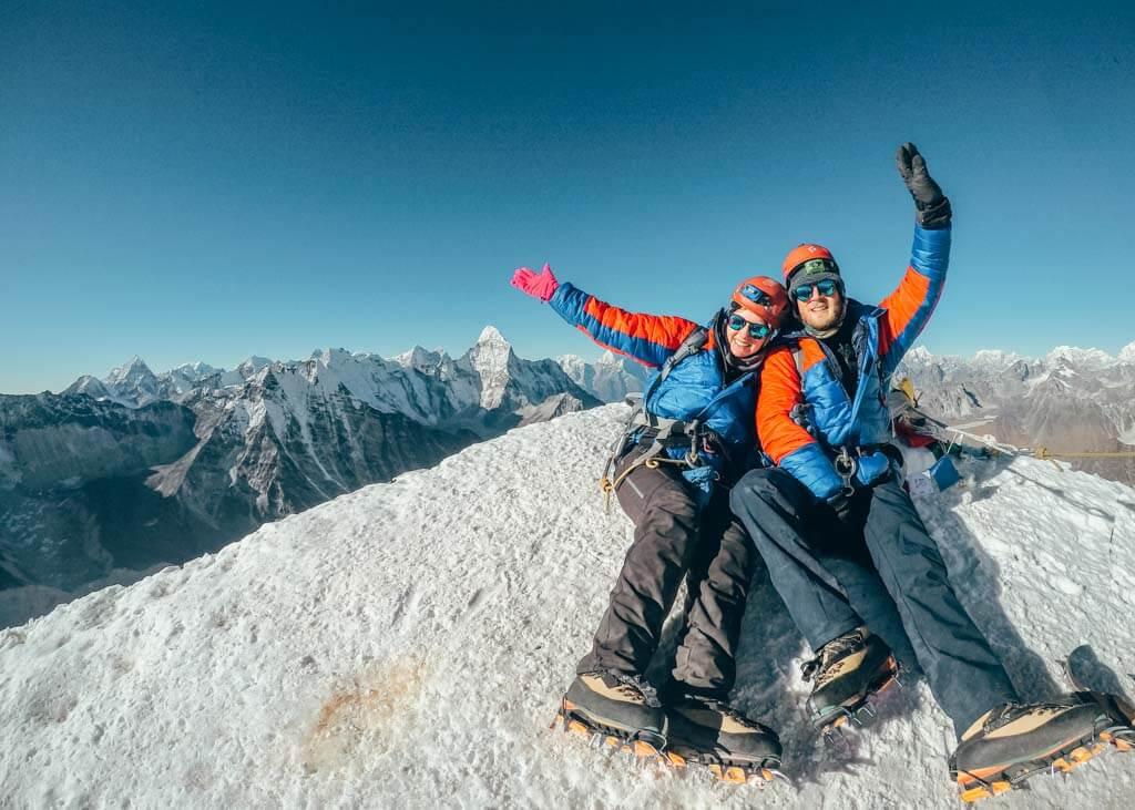 Summiting Island Peak and Everest Base Camp trek