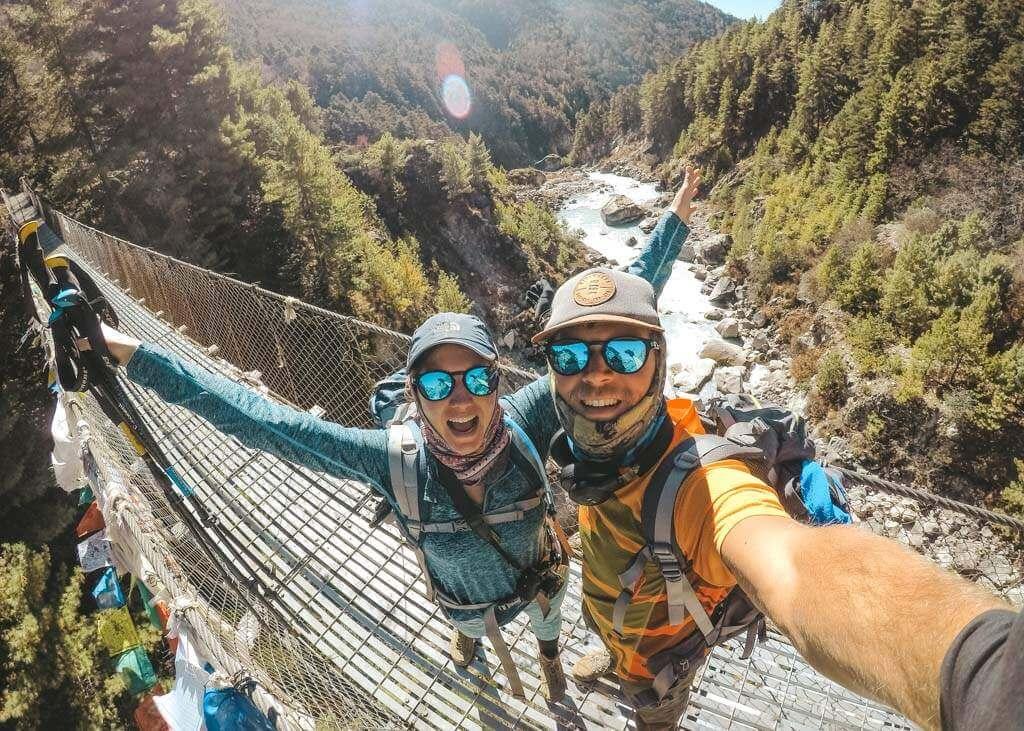 Suspension Bridges in Himalayas