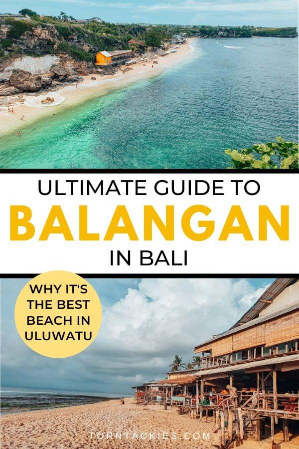 Travel guide to Balangan Beach Bali - Torn Tackies Travel Blog