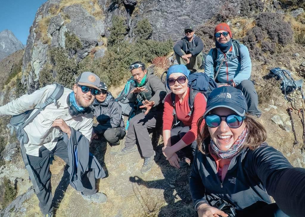 Trekking with Mountain Monarch