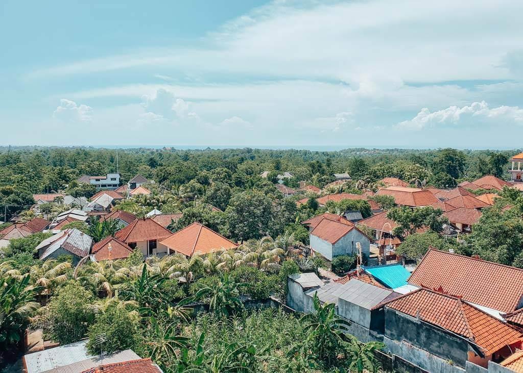 View of Bukit Peninsula