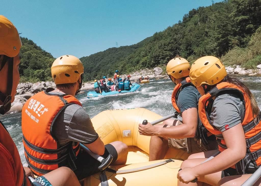 Adventure getaways in Korea