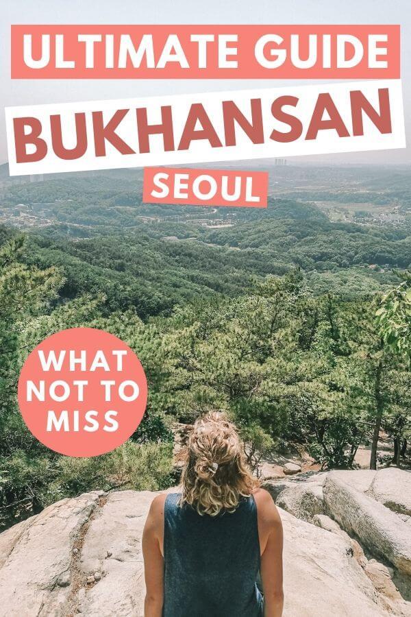 Bukhansan Hike in Seoul Korea - Torn Tackies Travel Blog