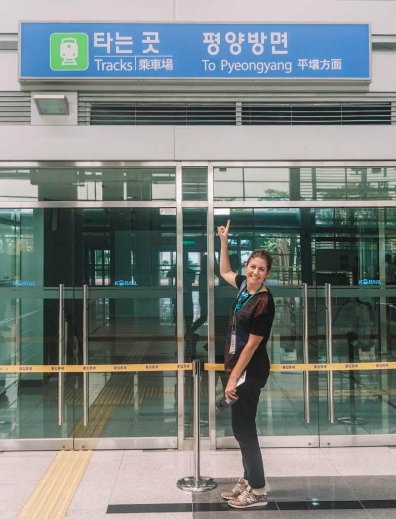 Dorasan Station in DMZ