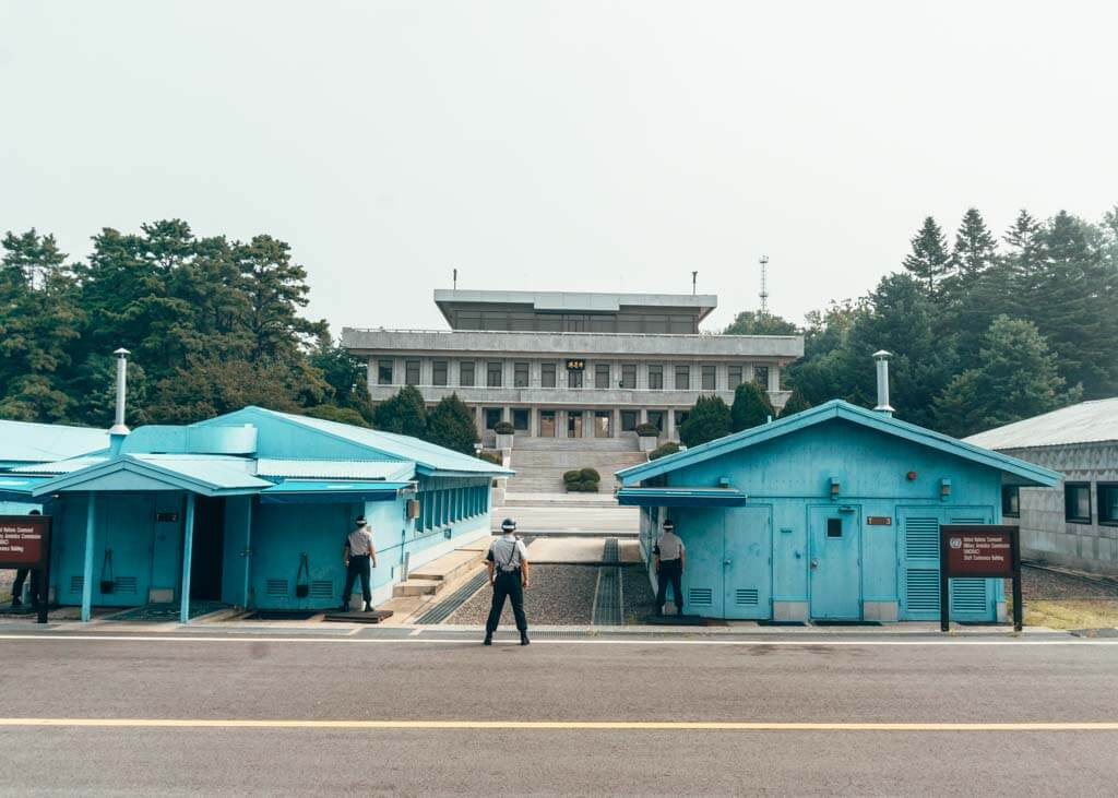 JSA Day trip from Seoul, Korea