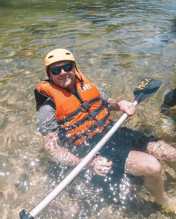 Rafting near Seoul
