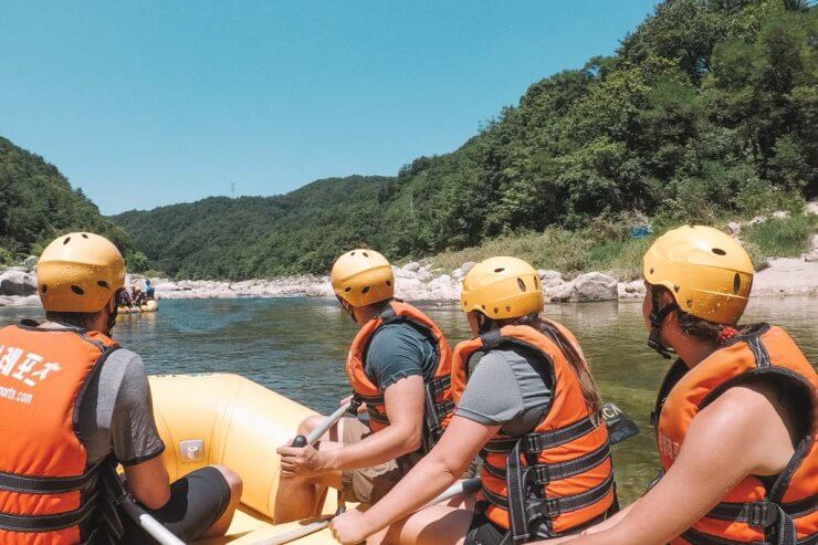 The Truth About Rafting in South Korea