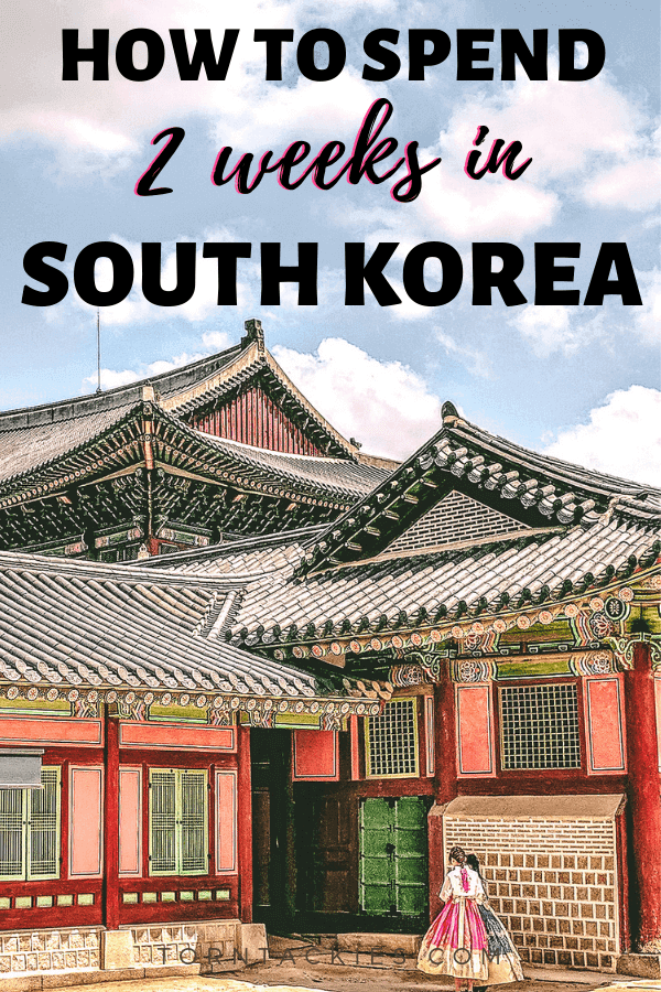 South Korea travel itinerary - torn tackies travel blog