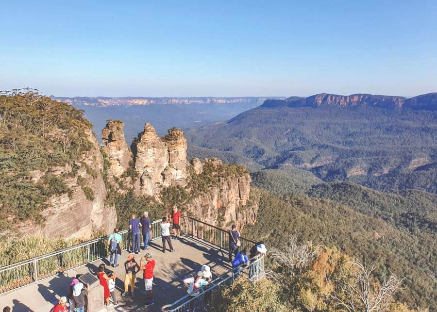 Echo Point Lookout Blue Mountains