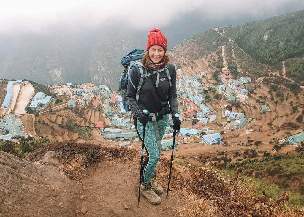 Boots for hiking in Nepal