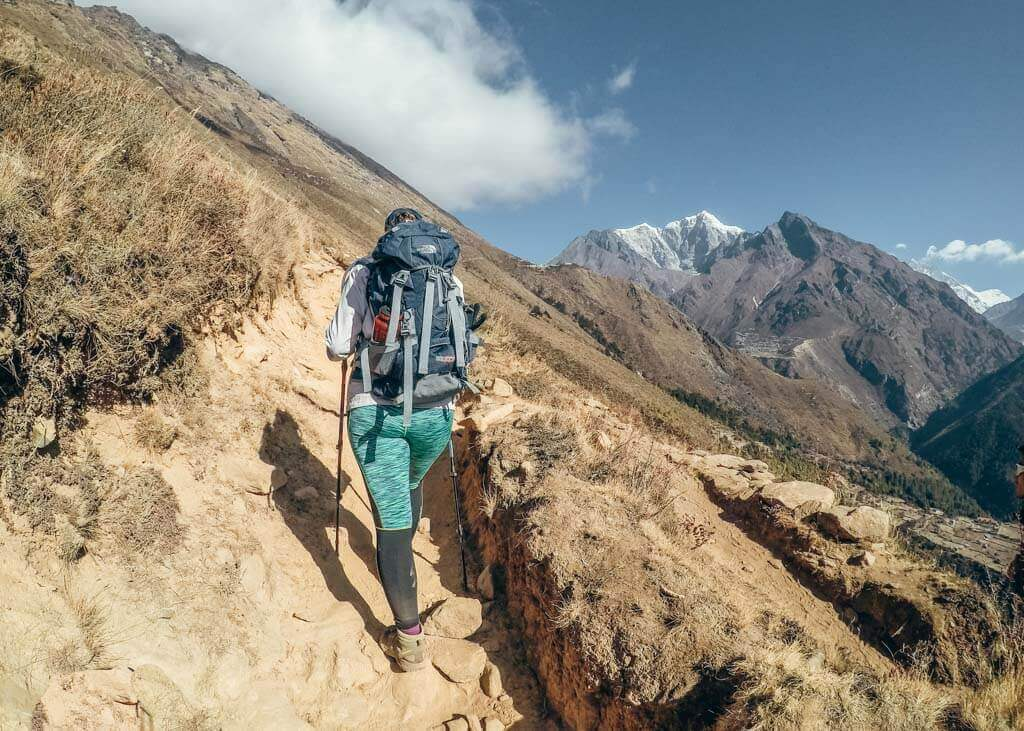 Day pack for trekking to EBC in Nepal