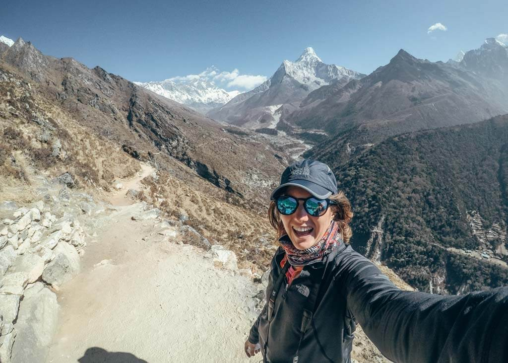 Hiking top for Everest Base Camp