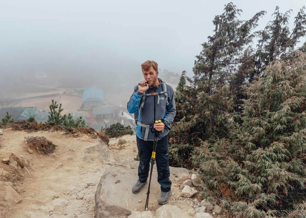Hydration pack to add to your Everest Base Camp packing list
