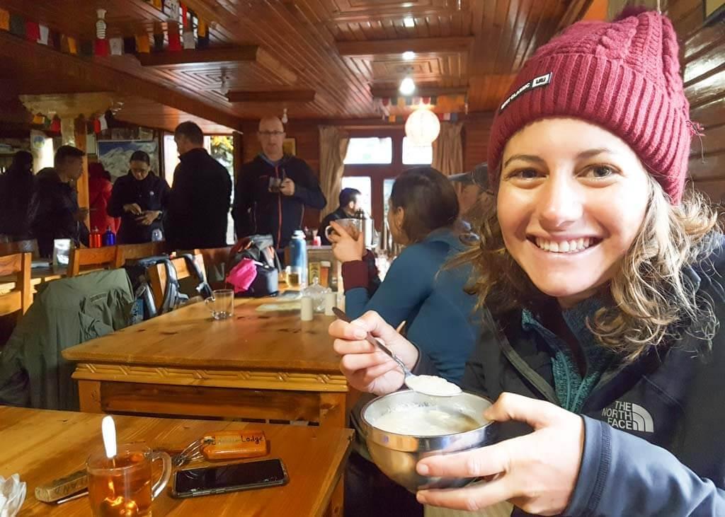 Tea houses at Everest Base Camp