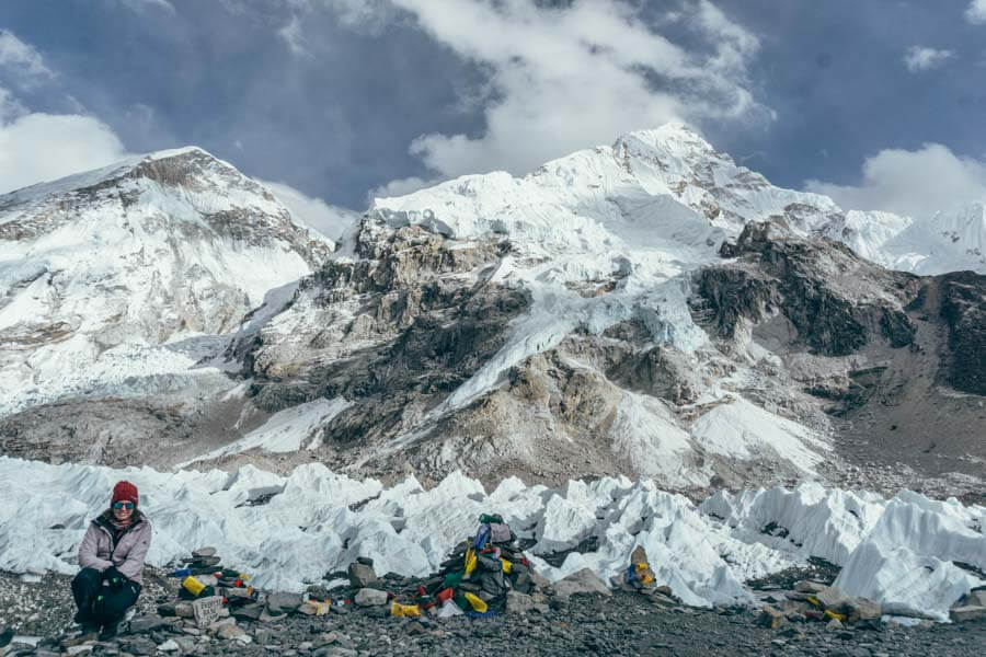 Training and packing for Everest Base Camp