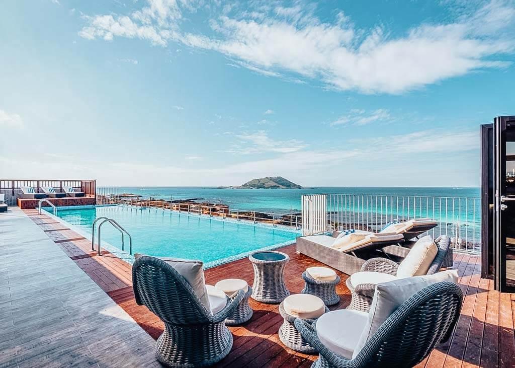 Aguila Hotel Jeju Oceano Suite in Jeju Island