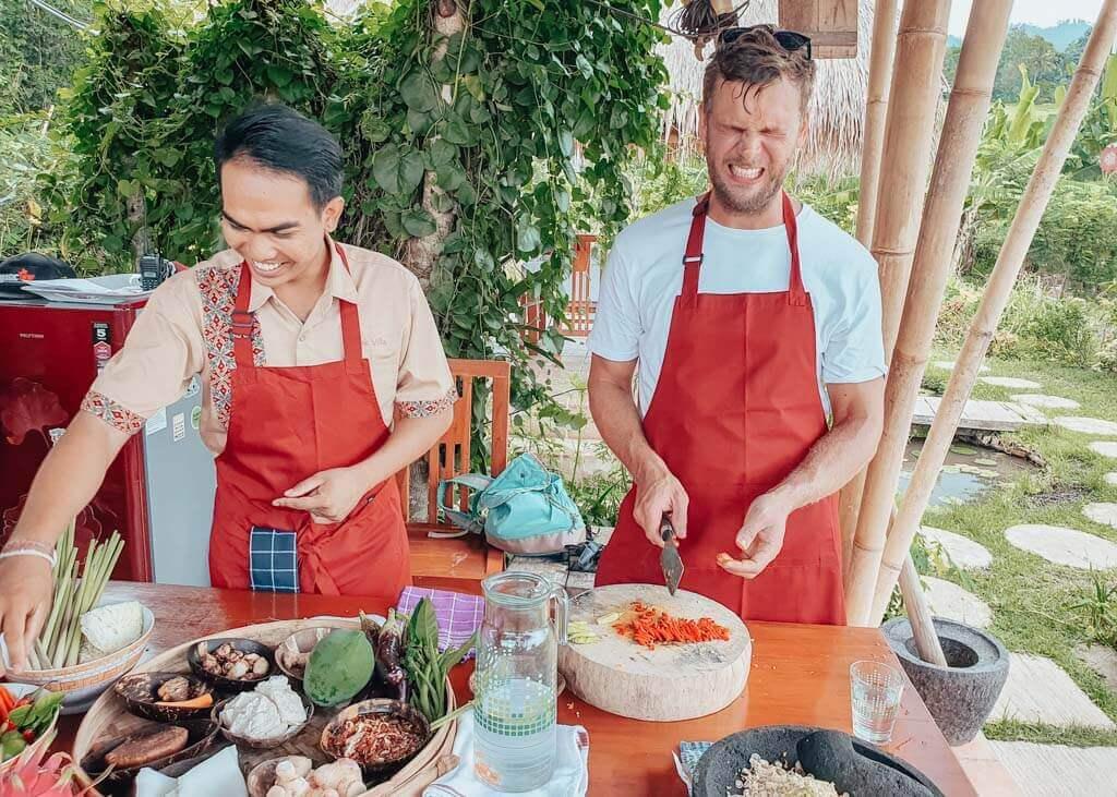 Cooking class in Sidemen Bali