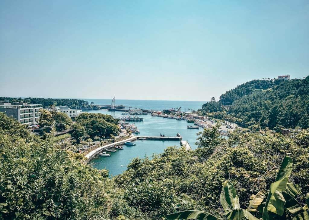 Seogwipo in Jeju Island