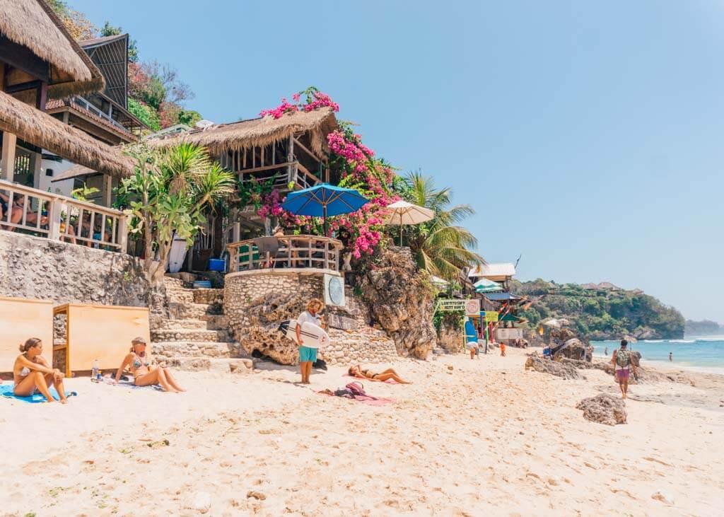 Where to stay in Bingin Beach Uluwatu
