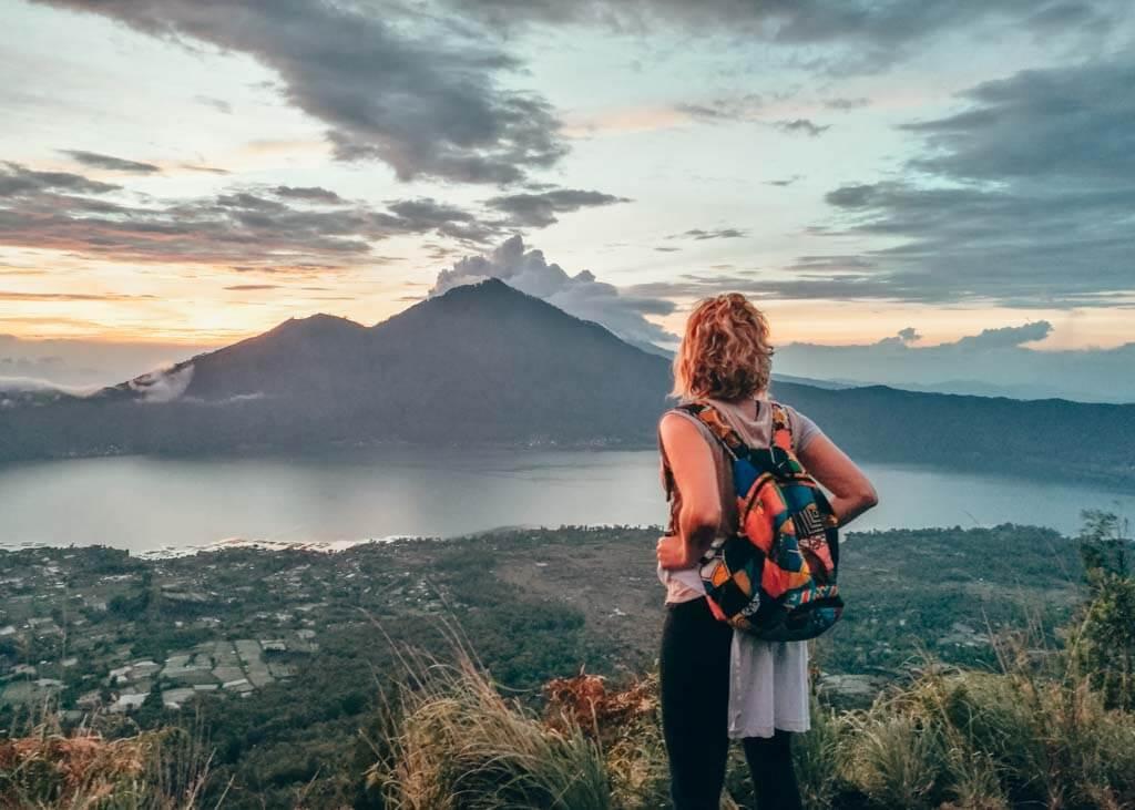 Hiking Mt Batur in Bali